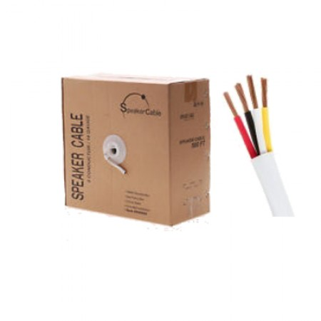Speaker Wire 16AWG 4Conductor 250-ft