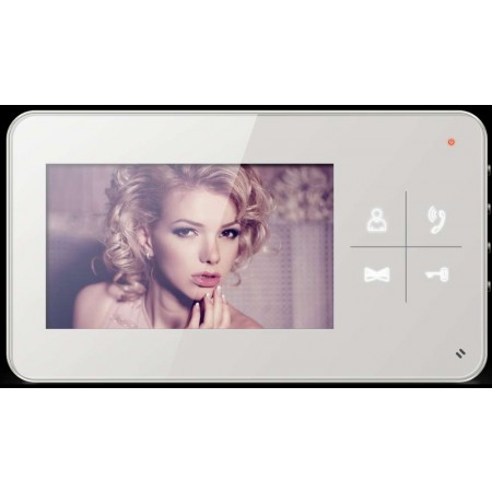 """4.3"""" Touch Button indoor monitor"""