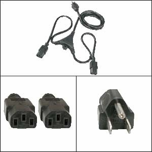 AC External Power Y Cable