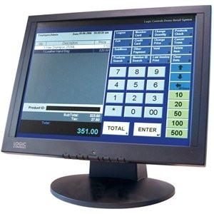 "Logic Controls LE1000 15"" Touchscreen LCD Monitor"