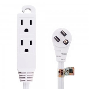 6ft Flat Angle Power Extension Cord