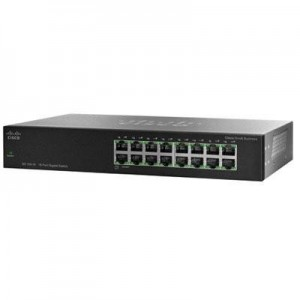 Cisco SG 100-16 16-Port Gigabit Ethernet Switch