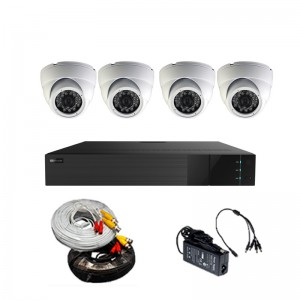 HD 4CH 1U mini DVR Package