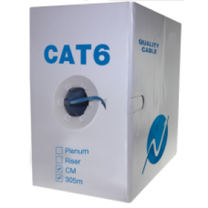 CAT6 cable 1000ft Solid CCA UTP