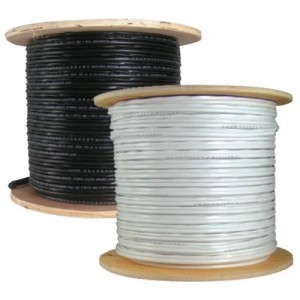 Bulk-Cable 500' SIAMESE Copper Coated White. (April special)