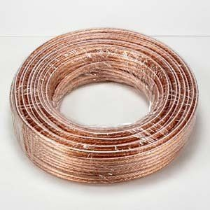 Speaker Wire 18AWG 2Conductor 50-ft