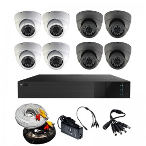 HD 8CH 1U mini DVR Package