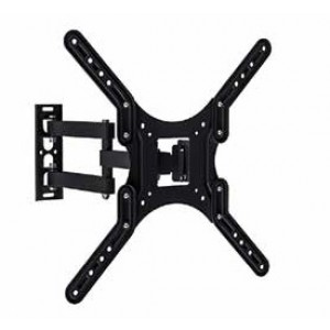 """TV WALL MOUNT FOR 23""""-55"""", TILT AND SWIVEL, UP TO 66IBS, VESA 400X400MM"""