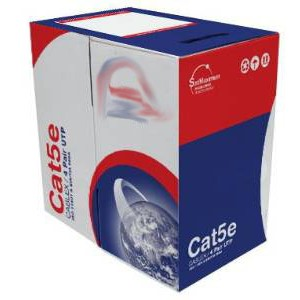 CAT5e UTP CCA cable 1000ft Blue