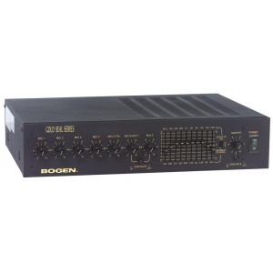 Bogen GS250 Gold Seal Series Public Address Amplifier 250W