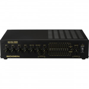 Bogen GS150 Gold Seal Series Public Address Amplifier 150W