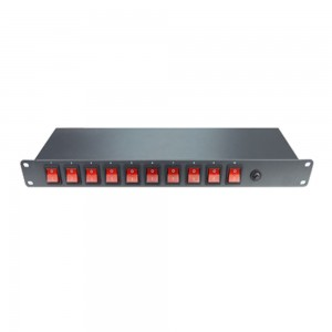 SF Rack Mountable Power strip 8port