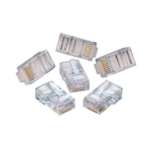 SF Jack Cat6 EZ-RJ45 100pack