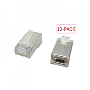 Jack RJ45 Shielded 10pack